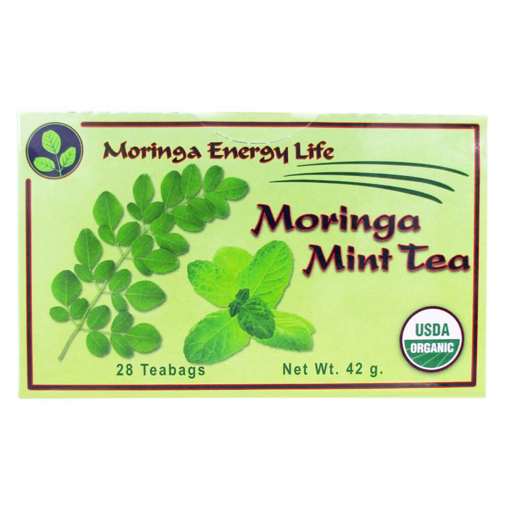 USDA Organic Moringa Mint Tea