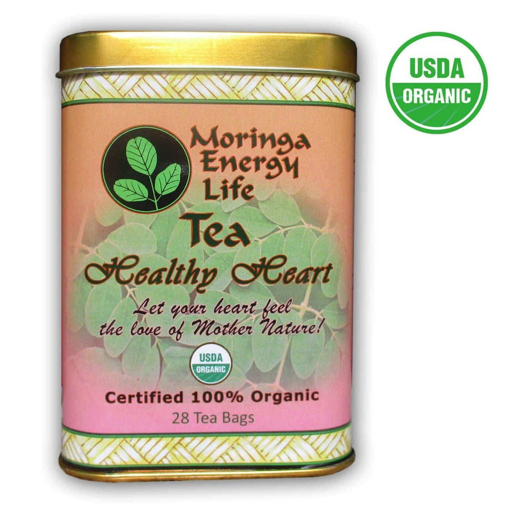 USDA Organic Moringa Healthy Heart Tea