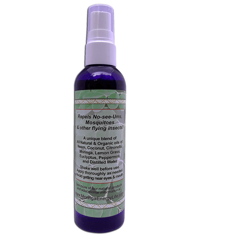 Image of Organic Insect Repellent - 4 oz, All Natural Spray for Bugs, Noseeum, Mosquito, Flies, Deep Woods and Outdoors Use, With Essential Oils.