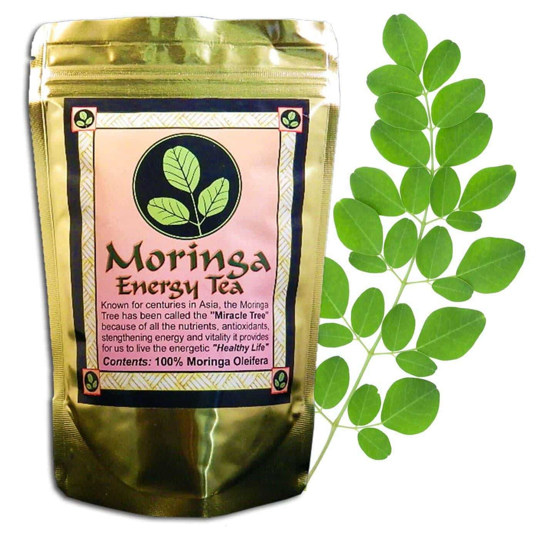 Organic Moringa Loose Leaf Tea 40 grams