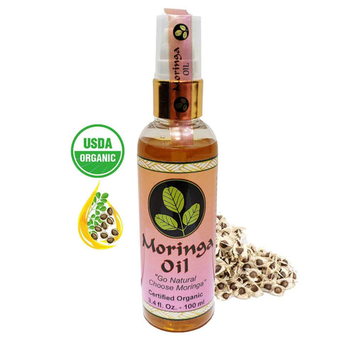 Image of USDA Organic Moringa Oil 3.4 oz.