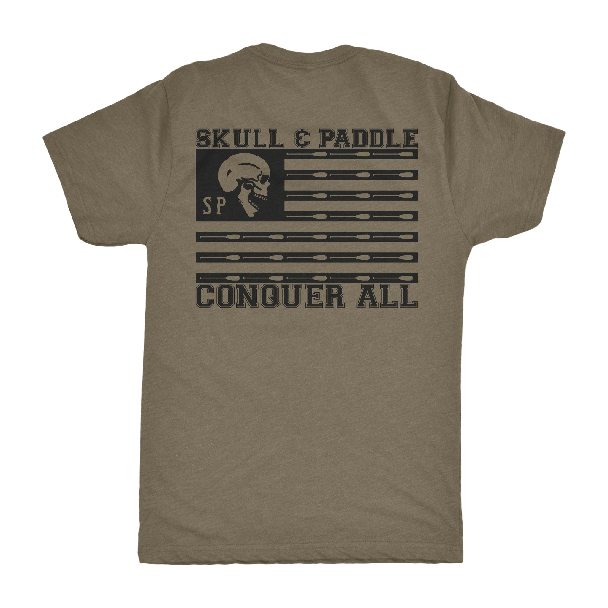 Conquer All Military Green Premium Tri Blend Conquer