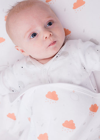 NEW Cloud Bunny Baby Blanket; Made in UK - Magnus & Mouse