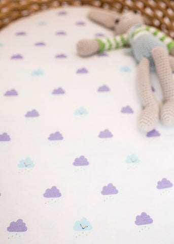 Organic Baby Bundle Cloud Print