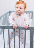 NEW Cloud Bunny Sleepsuit; Made in UK - Magnus & Mouse