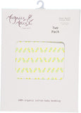 Pineapple Moses Fitted Sheet (2-pack)