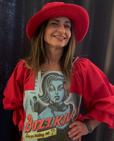 Buzzkill is part of the Blue Bohemian fashion line by Beluxe