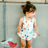 Sydney Romper in Ice Cream Cones