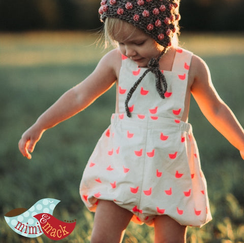 Sydney Romper in Quackers