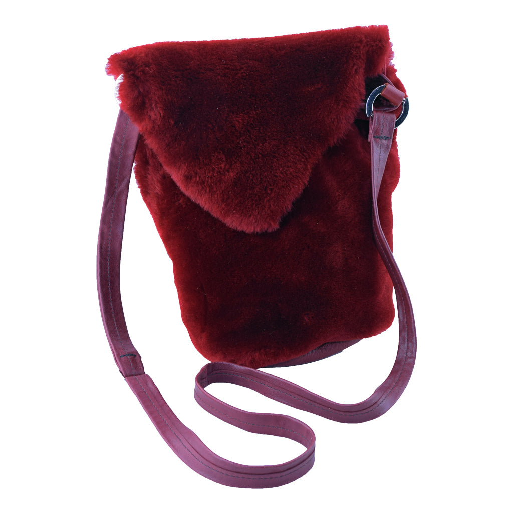 Squishy Soft Alpaca fur Handbag