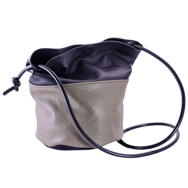 Bucket Bag w/ black strap