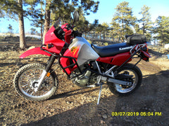 Klr650 full body engine crash bar 1987-2007