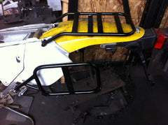 SUZUKI DRZ400 S-SM rear racks and heavy duty side racks