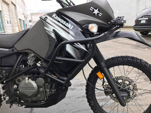 Klr650 full body engine crash bar 2008-2018