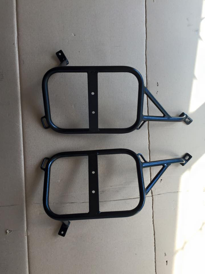Honda XR650L heavy duty side rack. 1993-2018