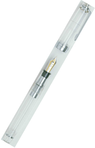 Sailor Professional Gear Demonstrator Fountain Pen with Silver Trim & 21k Bicolour Nib 11-9237