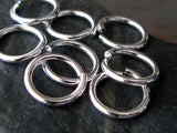 16 Gauge 10mm Round Jump Rings
