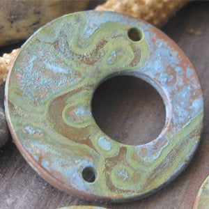 Aged Copper Patina Jewelry Making Supplies Adriano