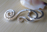Handmade Fancy Hook Clasp Jewelry Findings Callidora