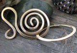Handmade Spiral Hook Clasp Jewelry Findings Salutation