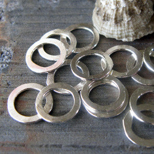 Satyrs Small Hammered Rings