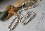 Long Oval Links Handmade Jewelry Making Components Ankyra