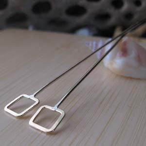 Square Headpins Handmade Jewelry Findings Cypria