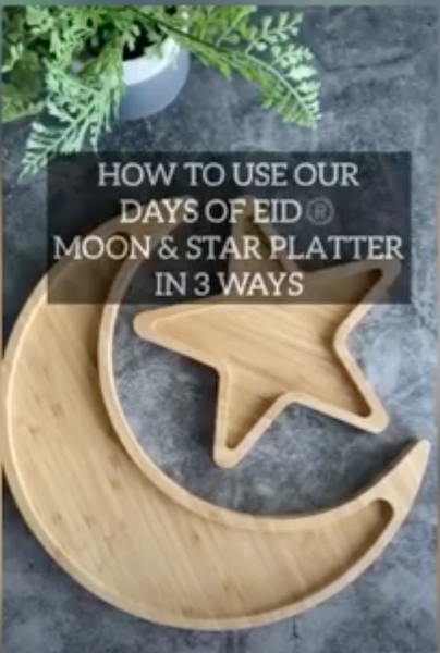 "3 Ways to Style our ""Moon and Star Platter"""