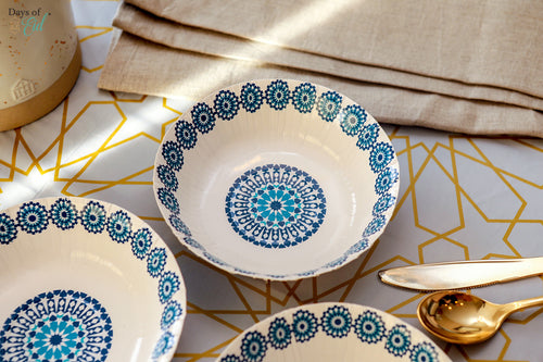 Moroccan pattern Paper Bowls