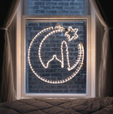 Crescent Moon Ramadan Light