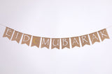 Days of Eid | Where to buy ramadan and eid decor online | burlap banner