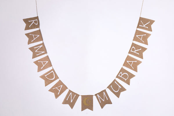 Days of Eid | Where to buy ramadan and eid decorations online | burlap banner