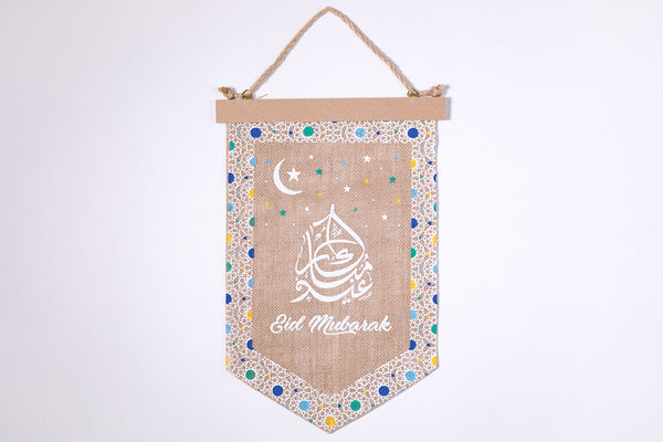 Days of Eid | Where to buy ramadan and eid decorations online | burlap pennants