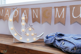 Days of Eid | Where to buy ramadan and eid decorations online | white moon marquee