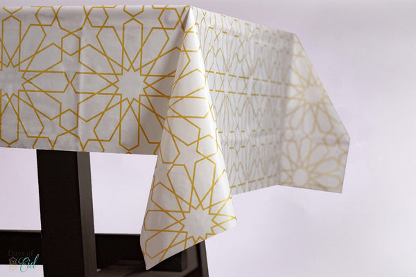 Table Cover - Gold