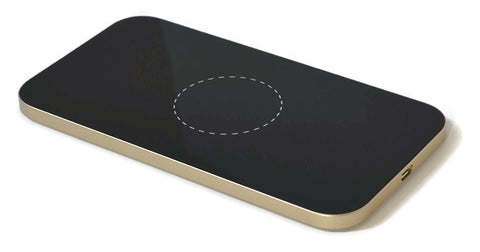 Cheetah  Wireless Charging Pad - Gold
