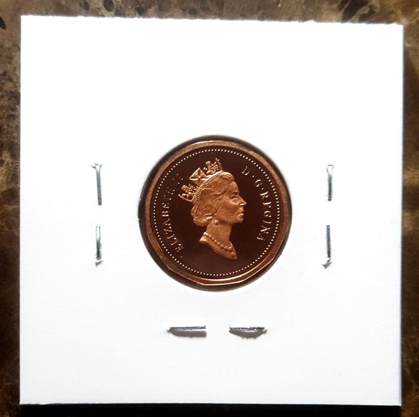 Canada 1993 Proof Strike Gem One Cent Penny