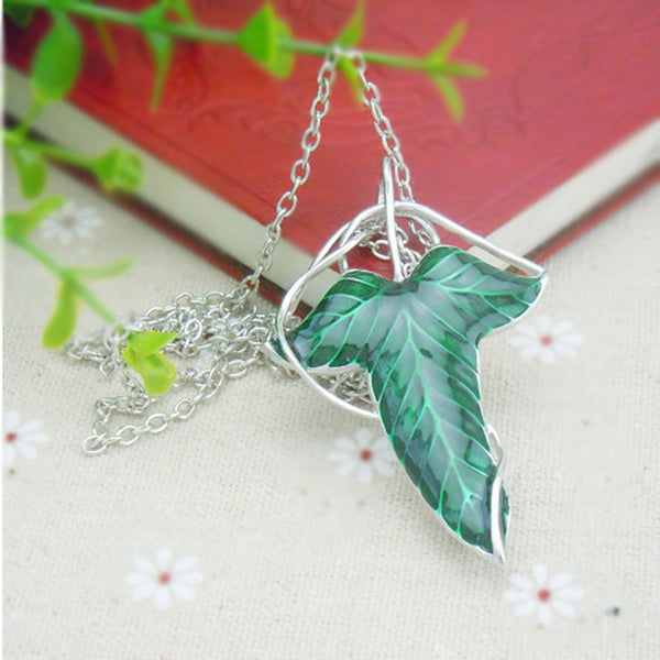 Lord of the Rings Elven Leaf Pendant / Brooch