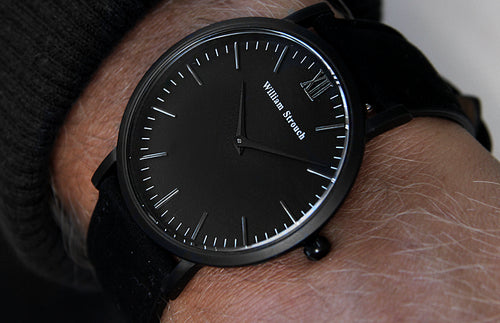 William Strouch Black on Black Watch -  - My Revolutional Shop - 2