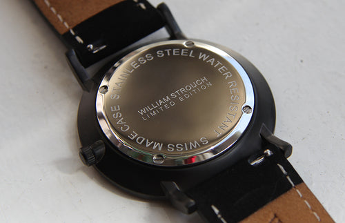 William Strouch Black on Black Watch -  - My Revolutional Shop - 4