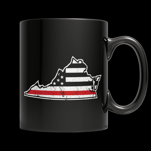Limited Edition Firefighters Mug - I Fight What You Fear 'Your State' Brotherhood - 11oz Black Mug - My Revolutional Shop - 1