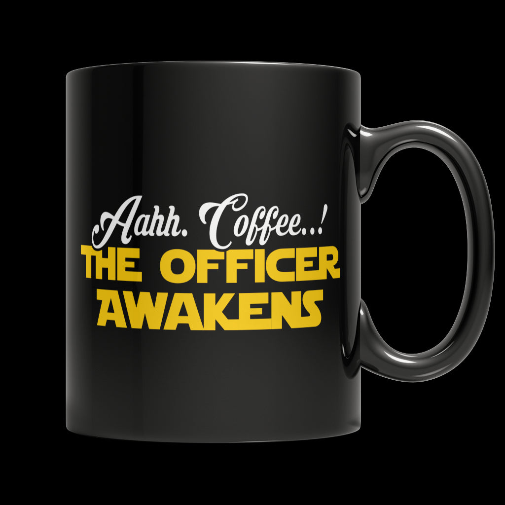 Drinkware - Limited Edition Mug - Aahh Coffee..! The Officer Awakens