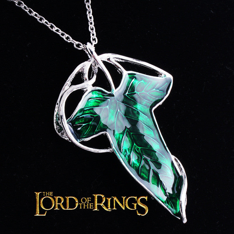 Lord of the Rings Elven Leaf Pendant / Brooch -  - My Revolutional Shop - 1