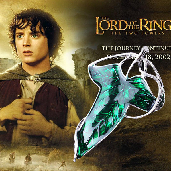 Lord of the Rings Elven Leaf Pendant / Brooch -  - My Revolutional Shop - 3