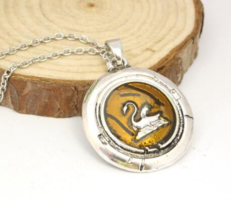 Once Upon A Time Emma Swan Pendant Necklace - orange - My Revolutional Shop - 3