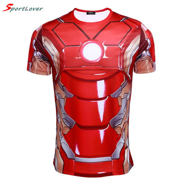 Iron Man Performance Compression Wicking Tee -  - My Revolutional Shop - 2