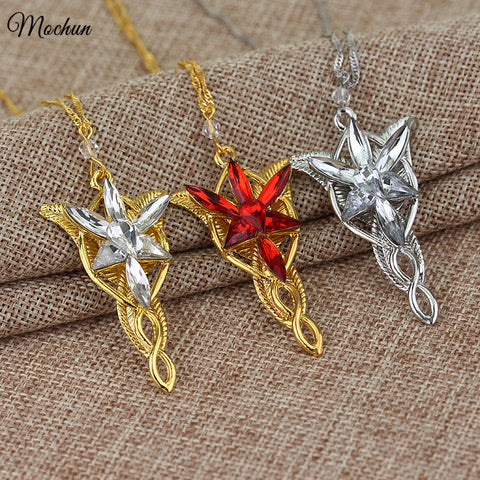 Lord of the Rings Princess Arwen's Evenstar Pendant Necklace