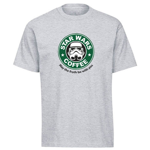 Star Wars® Coffee Funny Cotton T-shirt in 13 Color Options! -  - My Revolutional Shop - 1