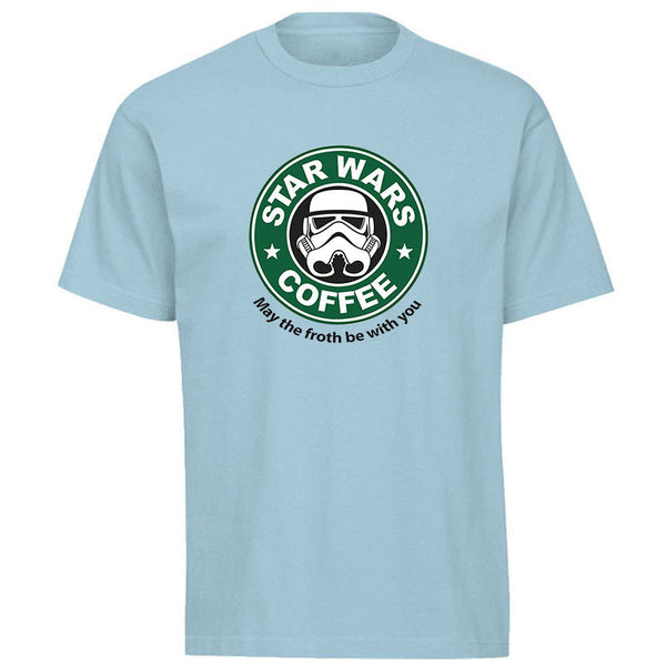 Star Wars® Coffee Funny Cotton T-shirt in 13 Color Options! -  - My Revolutional Shop - 3