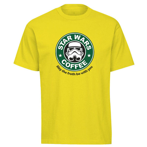 Star Wars® Coffee Funny Cotton T-shirt in 13 Color Options! -  - My Revolutional Shop - 4